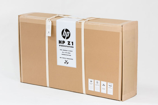 HP Cardboard Z1 Workstation