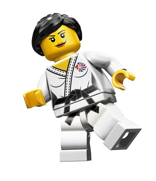 Lego Olympics Judo Fighter Minifigure
