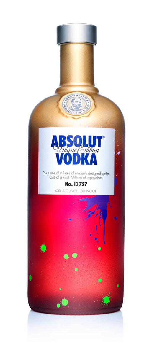 Absolut Unique Bottle