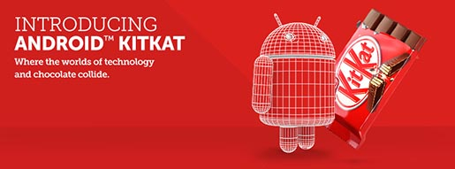Android KitKat Chocnology Banner