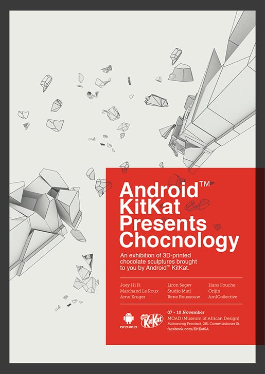 Android KitKat Chocnology Poster