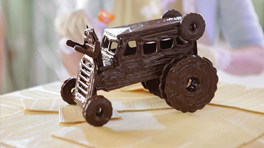 Android KitKat Chocnology Tractor