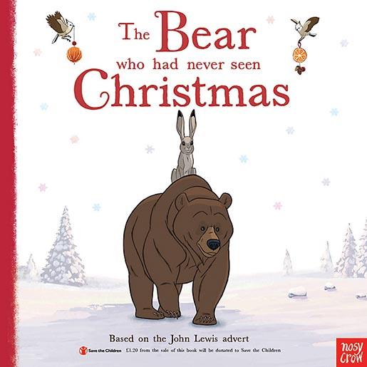 John Lewis The Bear who had never seen Christmas