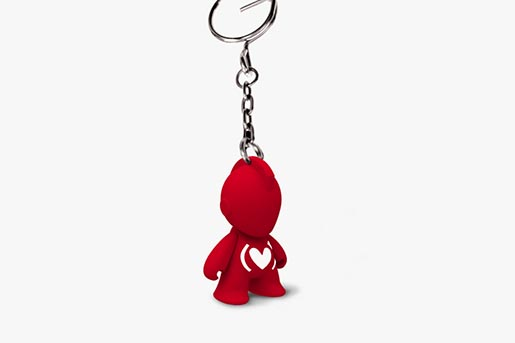 Kidrobot Keith Haring Studio Capsule Collection Keyring