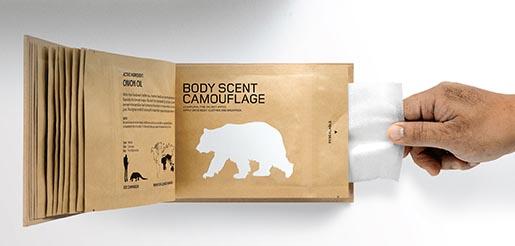 Land Rover Personal Extinction Prevention Book - Body Scent Camouflage