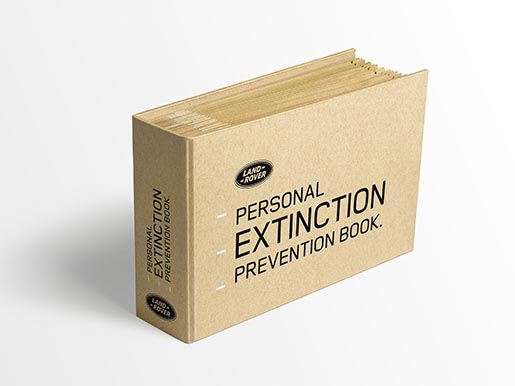 Land Rover Personal Extinction Prevention Book