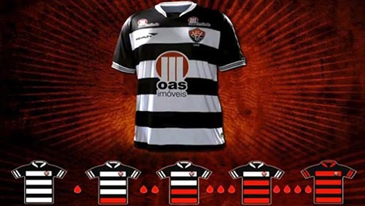 Vitoria Red Black shirts