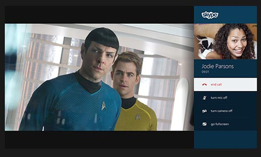 XBox One Startrek and Skype