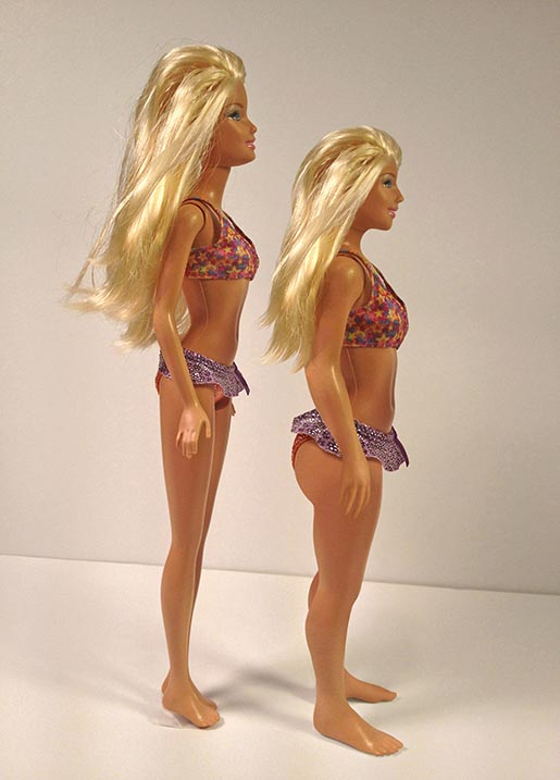 Barbie as a Real Woman