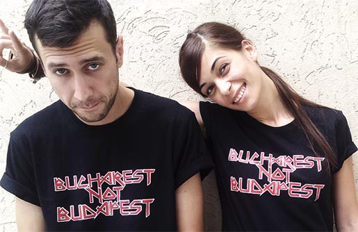 Bucharest Not Budapest t-shirts