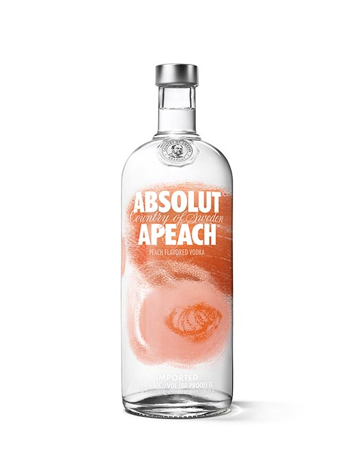 Absolut Vodka Apeach White
