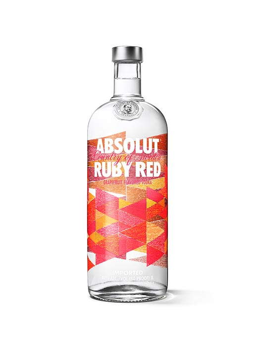 Absolut Vodka Ruby Red White