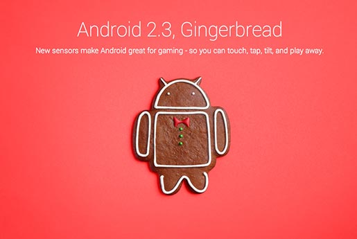 Android Gingerbead