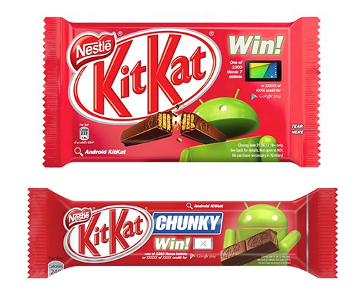 KitKat Win Prizes Packaging