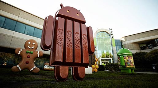 Nestle KitKat Android Chocolate Robots