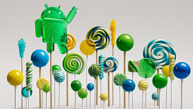 Google Android Lollipop Forest