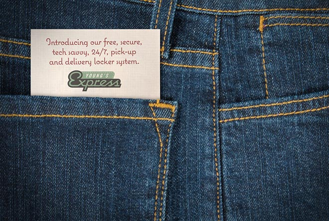 Youngs Jeans Pocket