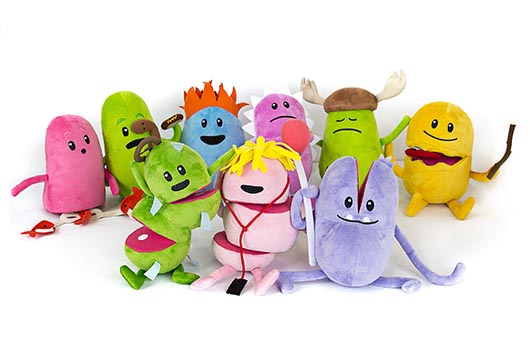Dumb Ways to Die Plush Toys