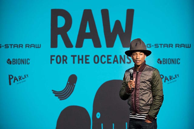 Pharrell Williams G-Star Raw For The Oceans