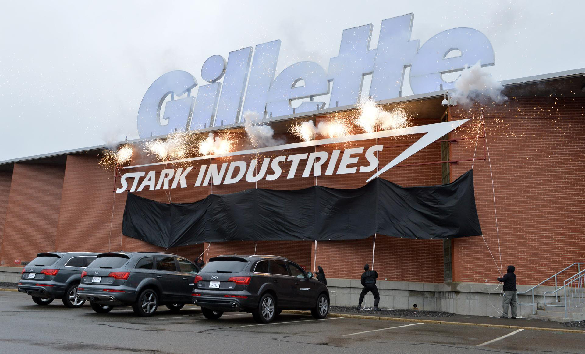 Gillette Avengers InnovationStark Industries Headquarters