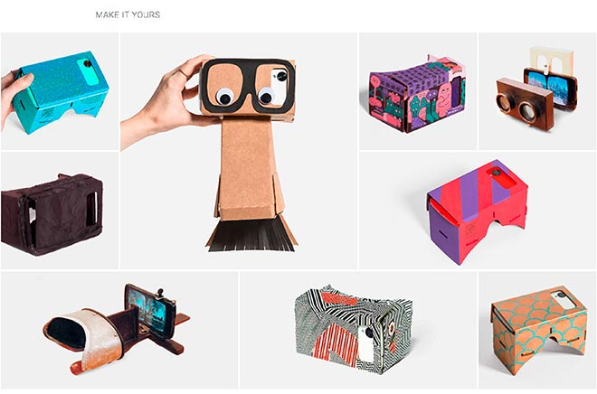 Google Cardboard - Make it yours