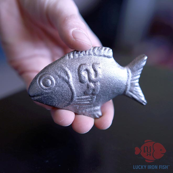 Lucky Iron Fish