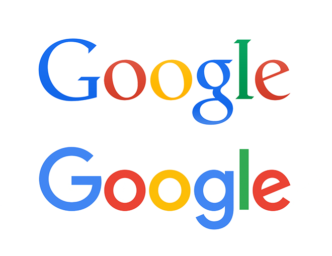 Google logo old and new 2015