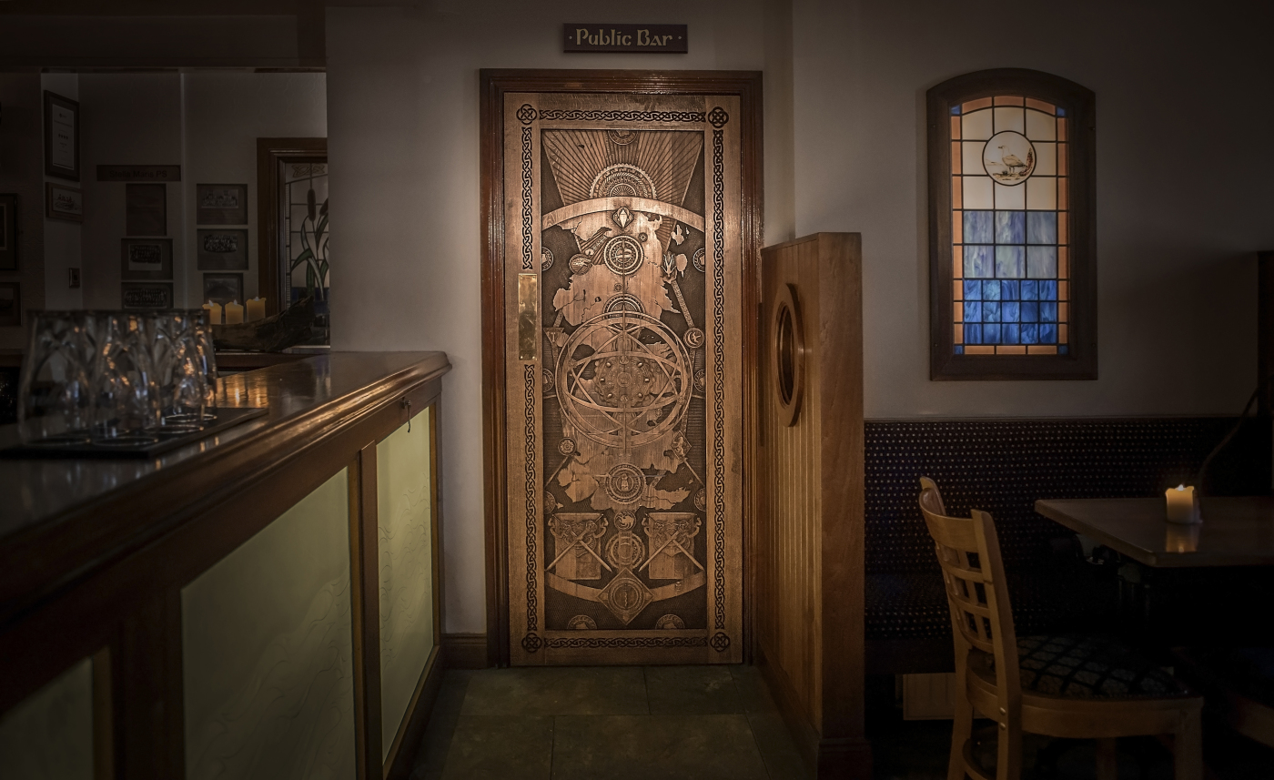 Doors of Thrones in The Cuan Bar Strangford from Game of Thrones in Northern & Doors of Thrones in Ireland - The Inspiration Room pezcame.com
