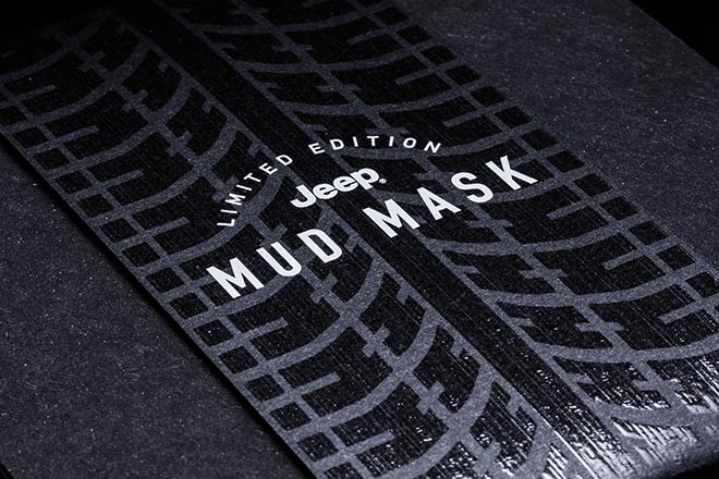 Jeep Mud Mask Banderolle