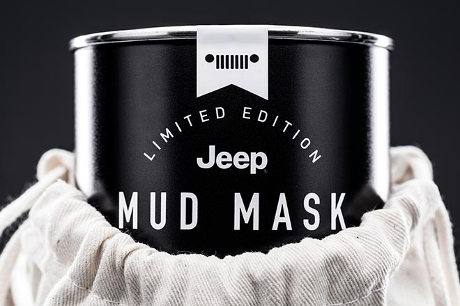 Jeep Mud Mask Can Bag