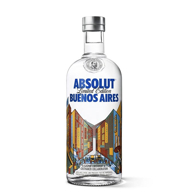 Absolut Buenos Aires bottle