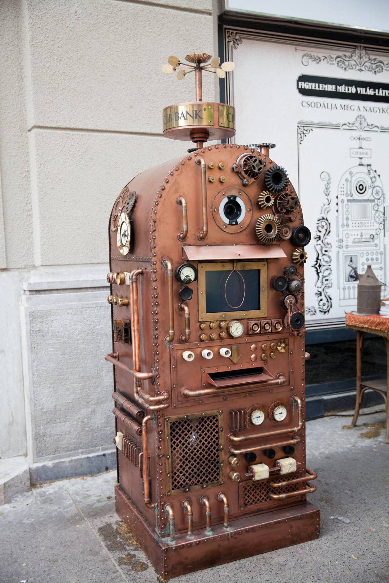 Cib Steampunk Atm The Inspiration Room