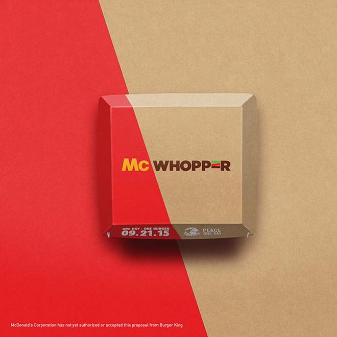 McWhopper Box Design