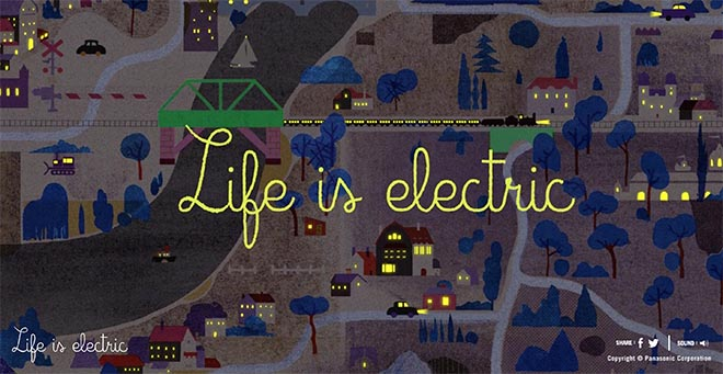 Panasonic Life is Electric Night