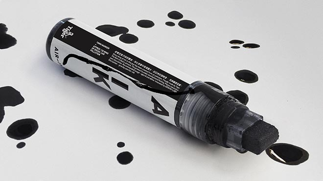 Tiger Beer Air-­Ink Pen