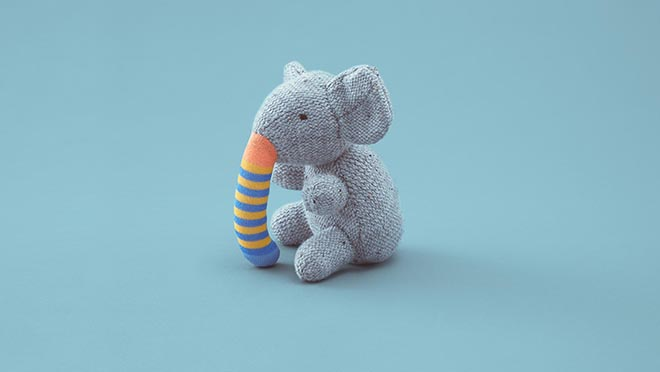 Second Life Toys - Elephant