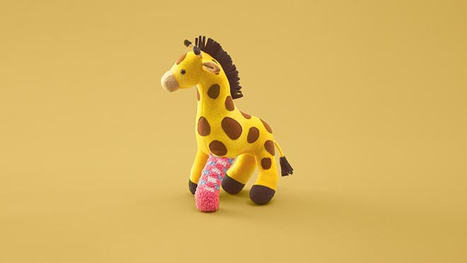 Second Life Toys - Giraffe