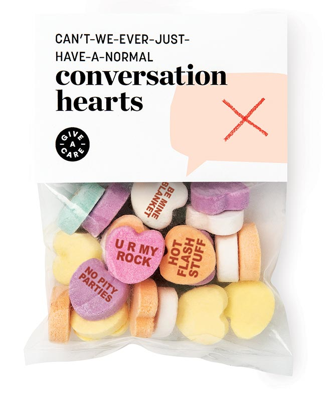 Give-A-Care Conversation Hearts
