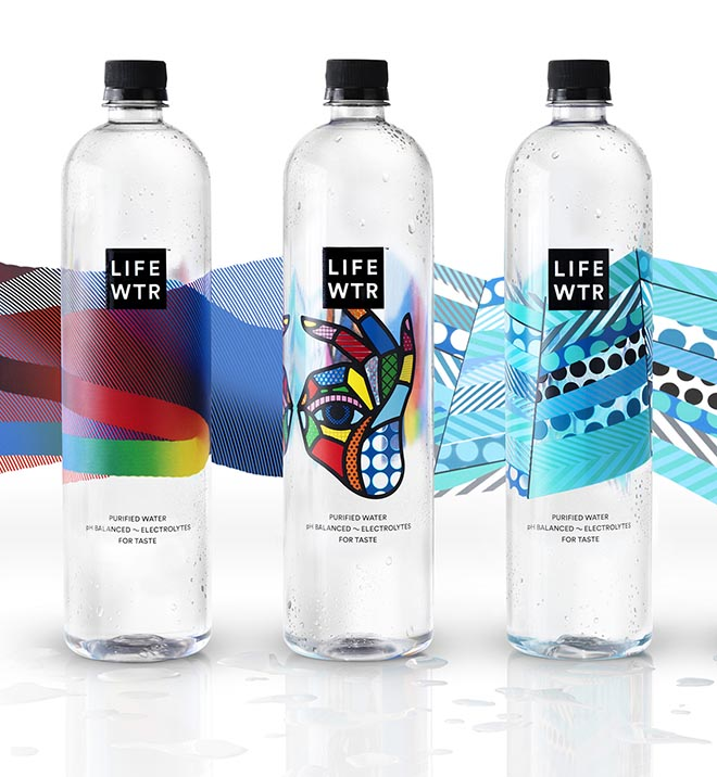 Lifewtr Bottles series 1