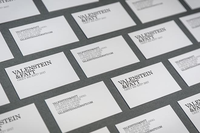 Valenstein & Fatt Business Cards