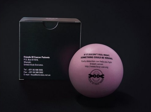 Friends of Cancer Patients Stressball
