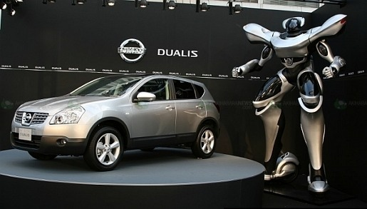 Nissan Dualis Powered Suit