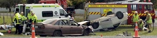 Matakana Road Crash
