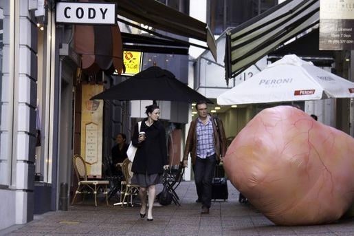 Breast Cancer Blob in Auckland
