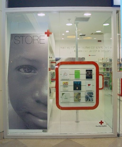 Red Cross Store in Madrid