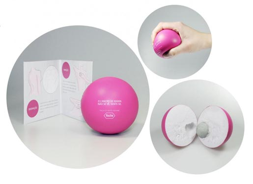 Roche Breast Cancer Stress Balls