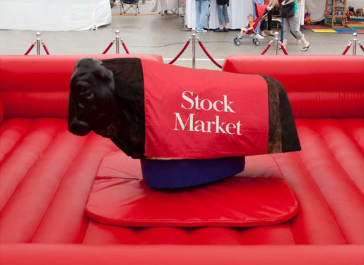 The Economist Stock Market mechanical bull