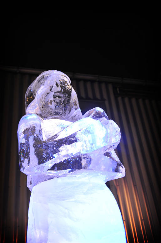 Maasai Ice Sculptures