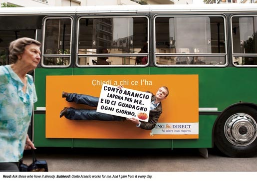 ING Direct Bus ad