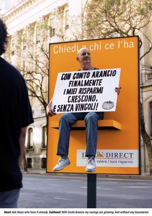 ING Direct Poster ad